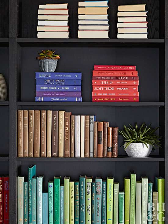 Bookshelves do double duty as storage space for books and display space for accessories. Learn how to decorate bookshelves so they are both fully functional and pleasing to the eye.