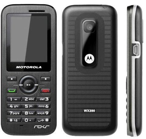 A ultra slim, stylish and good looking mobile phone, Motorola WX390.