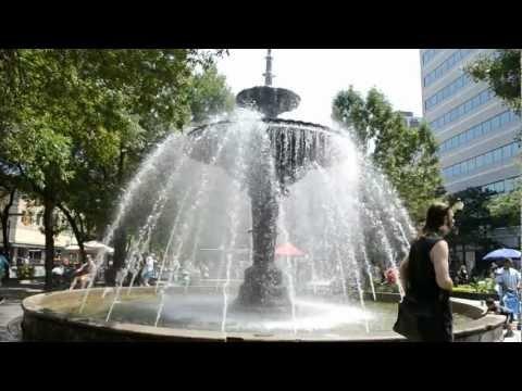 Gore Park in Downtown Hamilton