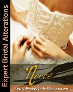 Best Seamstress for Bridal & Bridesmaid Dress in Mississauga area: Nocce Bridal Alterations #NoccBridalAlterations #bride #seamstress #Mississauga #Kitchener #bridalgown