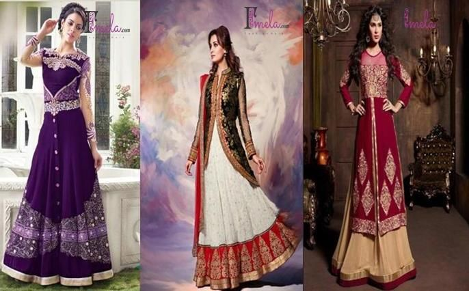 To make your parties rocking with party wear designer lehengas & anarkali suits, you can shop for party wear lehenga online at fmela.com