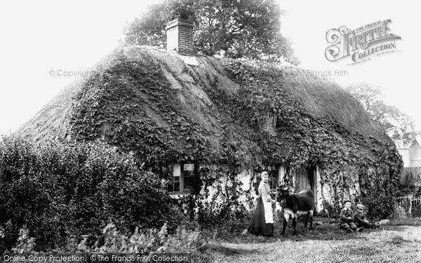 Frimley Green, Old Cottage 1906