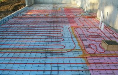 Concrete Floor Heating - How it works and Saves Energy