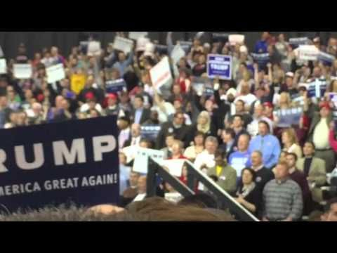 Donald Trump Defeats Black Lives Matter in Cleveland, OH (Full Speech) - YouTube