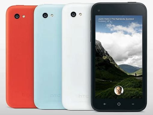HTC's first Android phone with Facebook Home pre-installed 'HTC First' is going on sale in the United States today.
