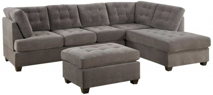 Best Gray Contemporary Sofas Home Design Sectional Sofa With 400 x 300
