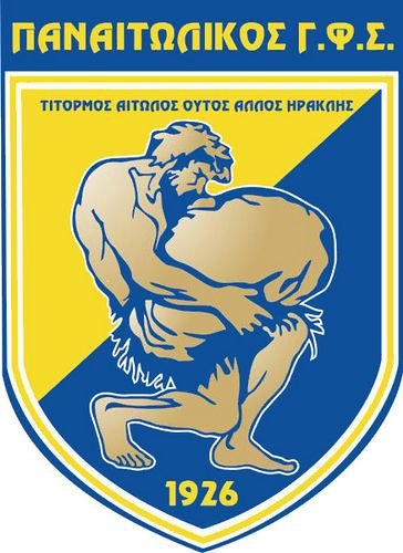 Panetolikos Gymnastikos Filekpaideutikos Syllogos (Παναιτωλικός Γυμναστικός Φιλεκπαιδευτικός Σύλλογος / Panetolikos Gymnastic Educational Club) | Country: Greece / Ελλάδα. País: Grecia. | Founded/Fundado: 1926 | Badge/Crest/Logo/Escudo.