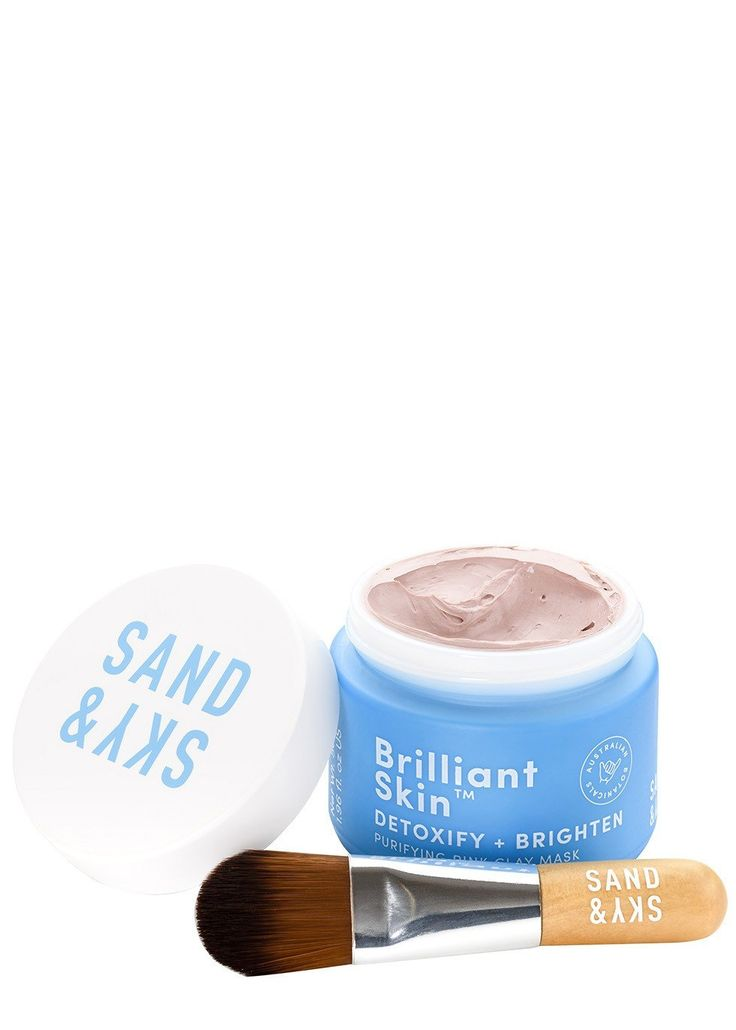 SAND AND SKY's Purifying Pink Clay Mask is a unique 4-in-1 treatment to help detoxify and brighten skin in just 10 minutes. Powered by Australian pink clay sourced from one of the purest environments on earth, the pink clay mask powerfully absorbs dirt and impurities, drawing out toxins. The mask works by minimising excess oil whilst refining pores, regulating sebum, combating pollution and reducing pigmentation to instantly reveal smooth skin with a bright glow.£6.81 per 10.00ml