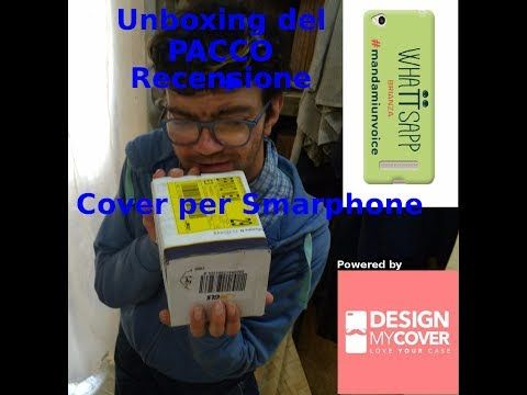 Unboxing cover by DESIGN MY COVER MILANO