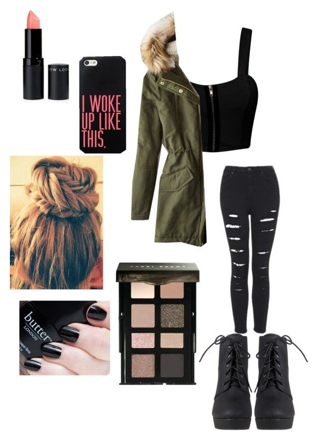 """"""".-."""" by estherlillymae ❤ liked on Polyvore featuring American Eagle Outfitters and Bobbi Brown Cosmetics"""
