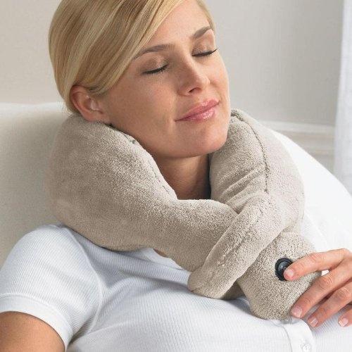 Brookstone offer the best nap Massaging Wrap.