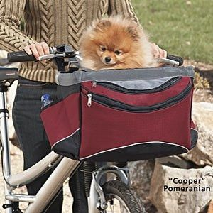 Sporty Pet Bike Basket by Snoozer