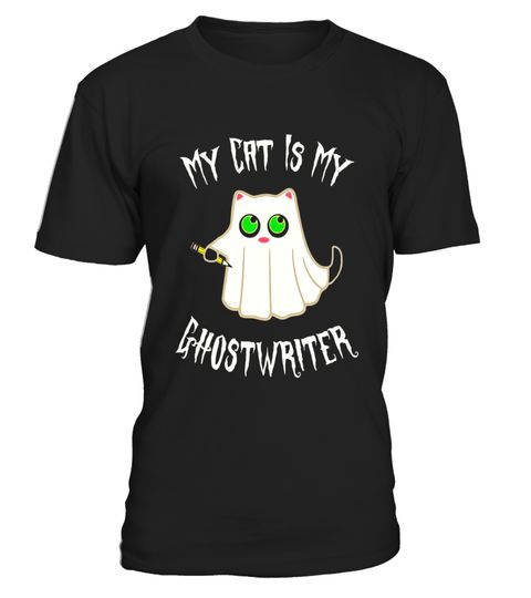 "# Funny My Cat Is My Ghostwriter T-shirt for Writers .  Special Offer, not available in shops      Comes in a variety of styles and colours      Buy yours now before it is too late!      Secured payment via Visa / Mastercard / Amex / PayPal      How to place an order            Choose the model from the drop-down menu      Click on ""Buy it now""      Choose the size and the quantity      Add your delivery address and bank details      And that's it!      Tags: If you're an author and you feel…"