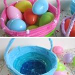 Pipe Cleaner Easter Basket