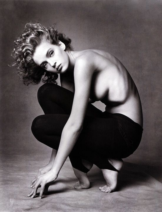 Uma Thurman by Irving Penn