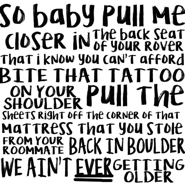 closer - the chainsmokers ft halsey lyric art omg, i hit 5k pins XD