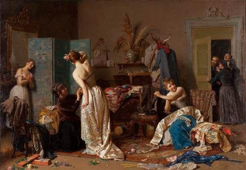 La sorpresa - Napoleone Nani (1841-1899)