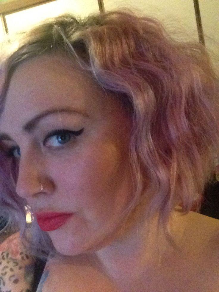 Xmas hairdo for xmas day !
