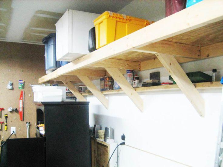 garage wall shelving