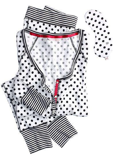 The Fireside Long Jane Pajama - Victorias Secret - Lingerie, Sleepwear & Loungewear - http://amzn.to/2ieOApL