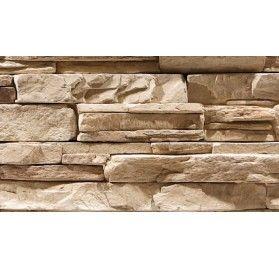 Stenvägg Vermont Sand - 0,5 m2