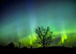 Northern Lights in Saskatchewan Canada