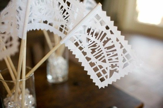 Papelle Picados - A fun new paper trend at weddings!