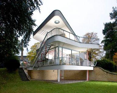 Haus Schminke, Löbau. Architekt: Hans Scharoun, 1933