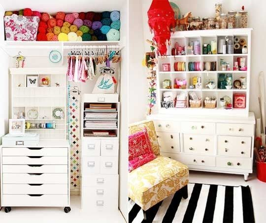 Craft room ideas for small spaces craft rooms crafts and small spaces - Craft room ideas for small spaces concept ...