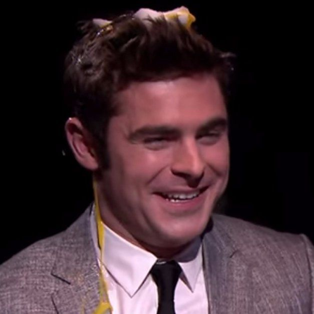 Pin for Later: Here's Proof That Zac Efron Can Still Look Hot With a Smashed Egg on His Head