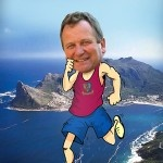 Two Oceans Marathon in Cape Town. Roger Cameron's final training for the Ultra Marathon