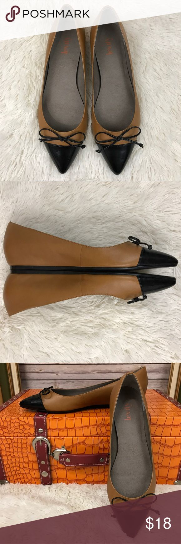 Levity Monica Pointed Toe Flats Career Casual Classic career flats that will go with absolutely everything!! Levity Shoes Flats & Loafers