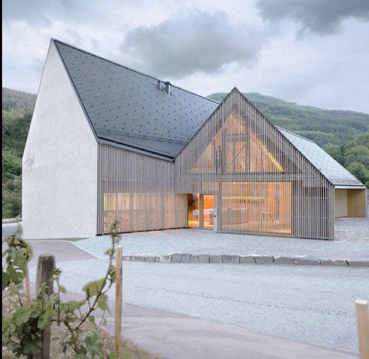 Vineyard Hogl. By Elmar Ludescher Architekt + Philip Lutz Architekt