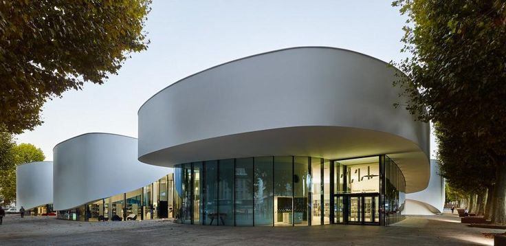 Media Library [Third-Place] in Thionville, France by Dominique Coulon & associés