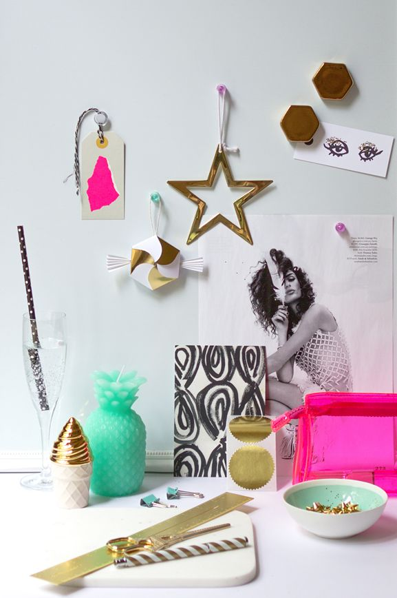 DIY // A few merry and very bright holiday DIY's