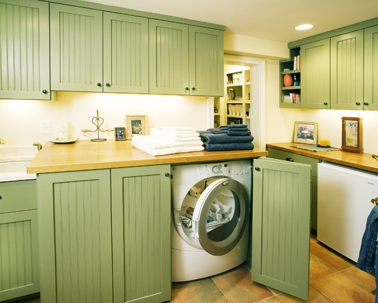 Laundry Room Under Counter Washer Dryer Design, Pictures, Remodel, Decor  And Ideas   Part 61