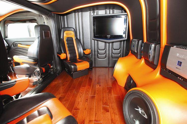 custom peterbilt sleeper interiors | Displaying (20) Gallery Images For Custom Peterbilt 379 Interior...