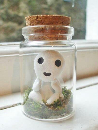 Studio Ghibli forest spirit... handmade (Found on fb)