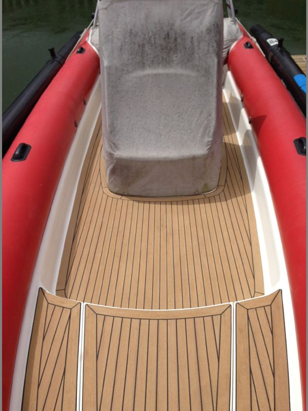 Faux teak decking for boats cost in malaysia high quality for Deck flooring materials