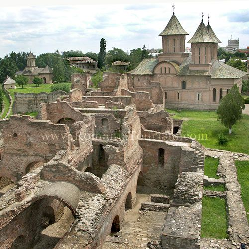 Targoviste, Romania - Princely Court Ruins