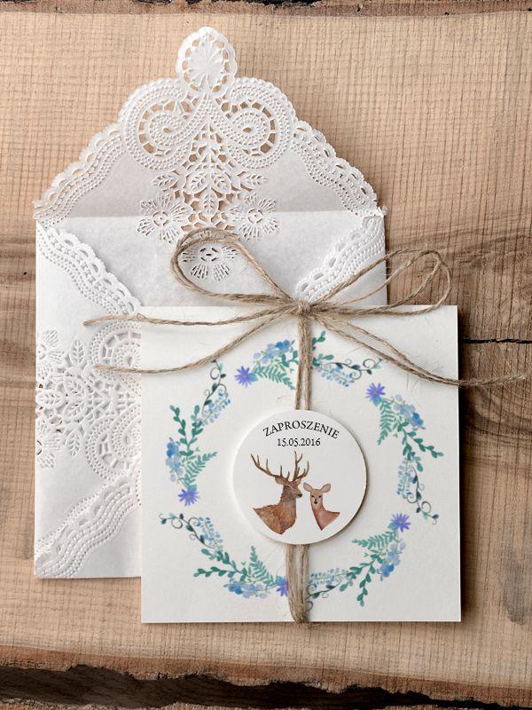 Zaproszenia ślubne rustykalne 28-rst-z #decorisus #decoris #zaproszeniaslubne…