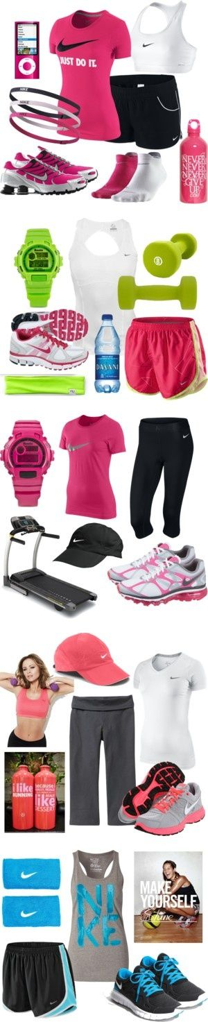 """""""Workout Wear"""" by qtpiekelso on Polyvore"""