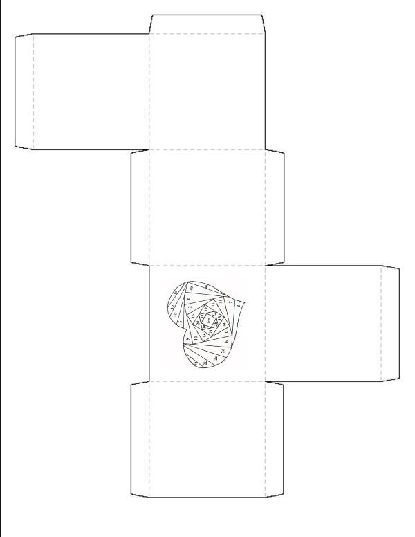 folded paper template