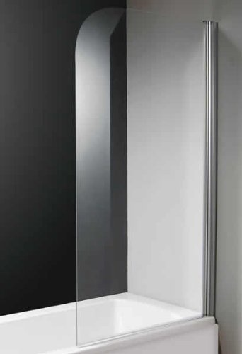 Curved Over Bath Glass Shower Screen (Universal)  Price : £130.00 http://www.showeringforall.com/Curved-Glass-Shower-Screen-Universal/dp/B009HOLQR6
