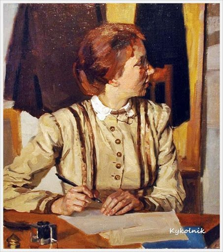 """""""Teacher,"""" Yuri Belov (Russia, 1929)"""