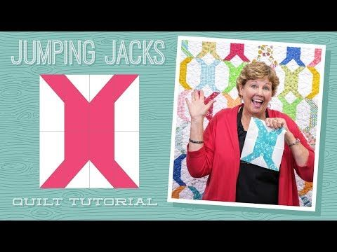 MSQC Tutorial - Jumping Jacks Quilt