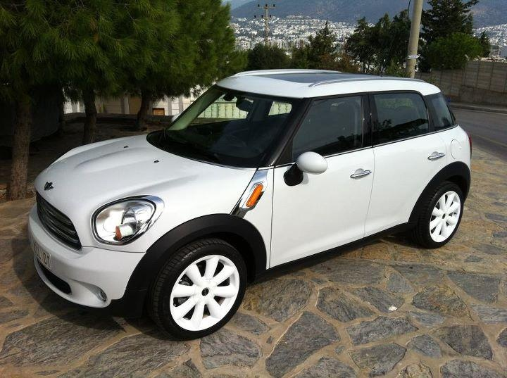 Mini Cooper Country Man - one more year with Pepper and Baleu will be mine.