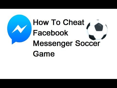 How To Cheat Facebook Messenger Soccer Game:  This video explains how to cheat and get more score on Facebook Messenger Soccer game