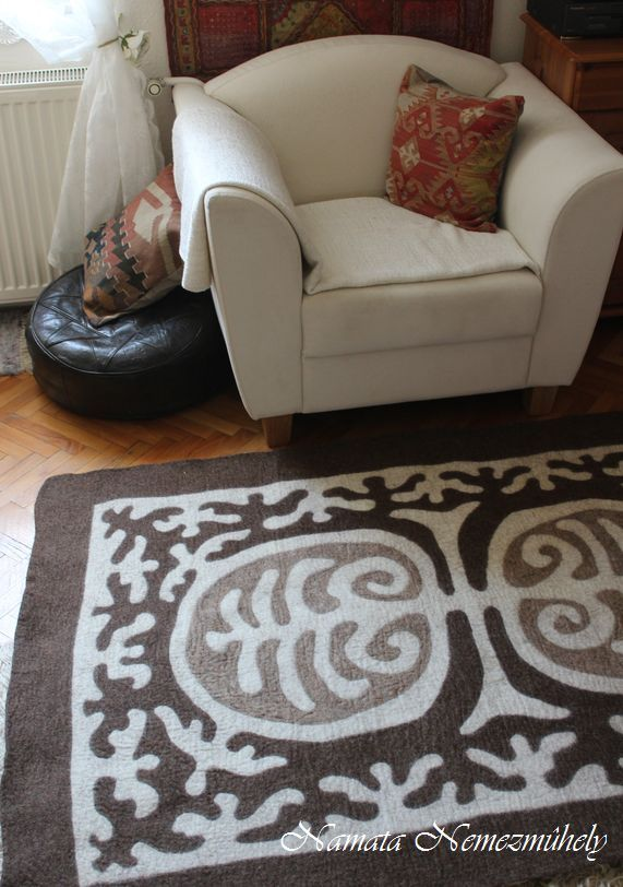 #felted #rug