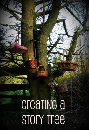 Sun Hats & Wellie Boots: Creating a Story Tree with Story Baskets
